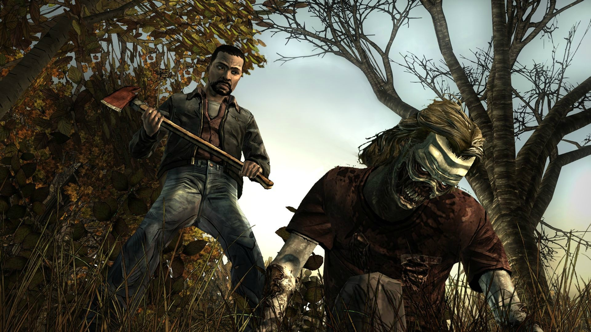 The walking dead game интерактивное кино