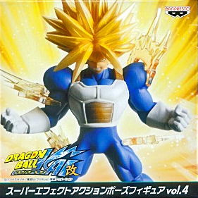 главная фотография Super Effect Action Pose Figure Vol.4: Trunks