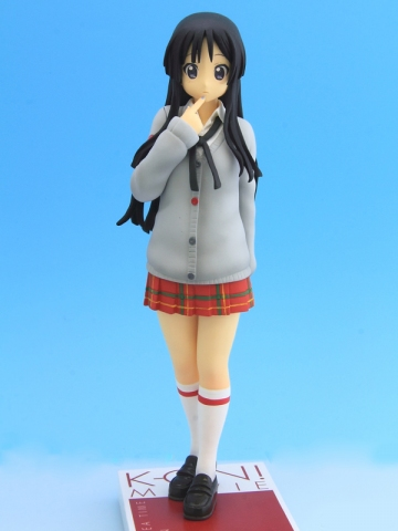 главная фотография K-ON! Movie DXF Figure: Akiyama Mio HTT Gray Style Ver.