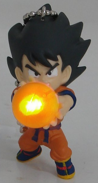 главная фотография Dragon Ball Kai Led Light KeyChain: Son Goku Orange Ball Ver.