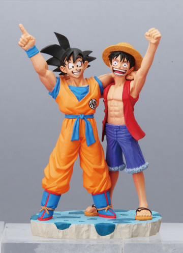 главная фотография Dragonball Z x One Piece Capsule Neo: Goku & Luffy