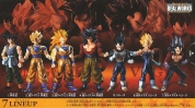 фотография Real Works Dragon Ball Selection Genealogy of Super Fighters: Son Goku SSJ3