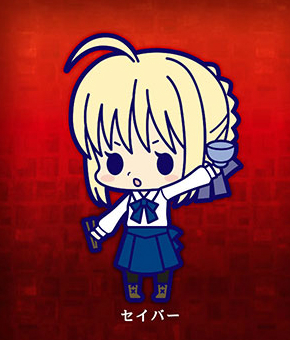 главная фотография es Series Rubber Strap Collection Fate/stay night chapter 1: Saber