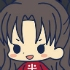 es Series Rubber Strap Collection Fate/stay night chapter 2: Tohsaka Rin