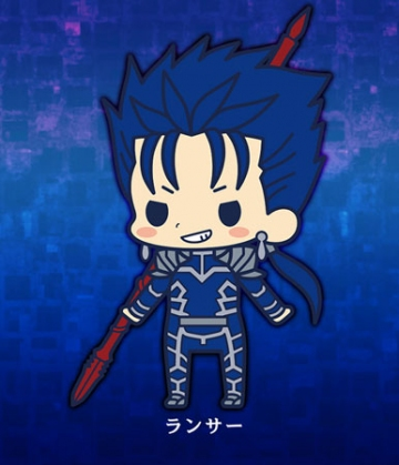 главная фотография es Series Rubber Strap Collection Fate/stay night chapter 2: Lancer