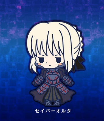 главная фотография es Series Rubber Strap Collection Fate/stay night chapter 2: Saber Alter
