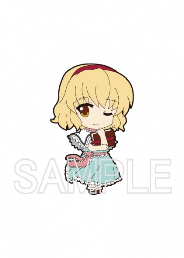главная фотография Nendoroid Plus Trading Rubber Strap Chap.2 Touhou Project: Alice Margatroid