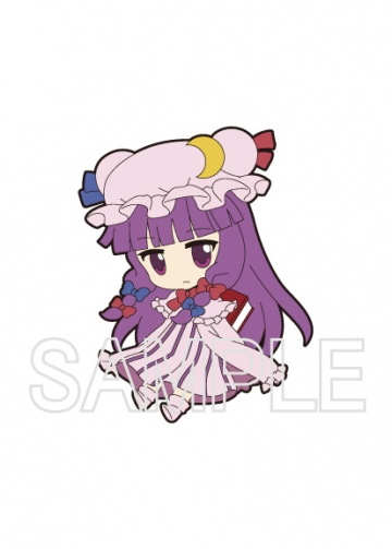 главная фотография Nendoroid Plus Trading Rubber Strap Chap.2 Touhou Project: Patchouli Knowledge