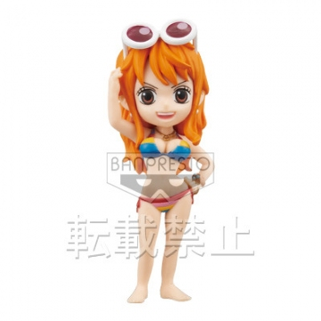 главная фотография One Piece World Collectable Figure ~One Piece Film Z~ vol.1: Nami