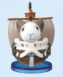 главная фотография One Piece World Collectable Figure vol.9: Going Merry