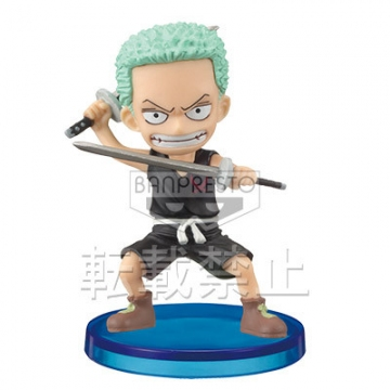 главная фотография One Piece World Collectable Figure Vol.27: Roronoa Zoro