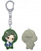 фотография Saki Achiga Arc episode of side-A Puchikko Trading Metal Keychain: Someya Mako