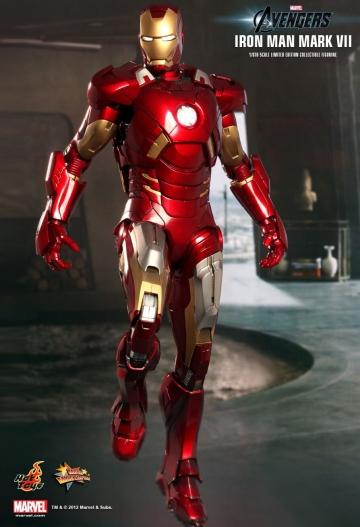 главная фотография Movie Masterpiece Iron Man Mark VII