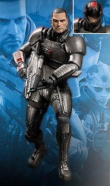 главная фотография Mass Effect 2 Action Figures Series 1 Commander Shepard