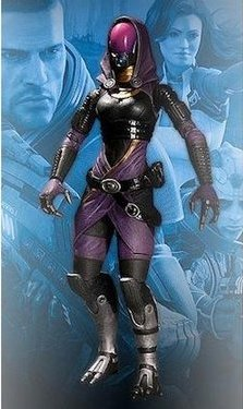 главная фотография Mass Effect 2 Action Figures Series 1 Tali'Zorah nar Rayya