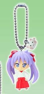 главная фотография Lucky Kuji Lucky☆Star 2: Hiiragi Kagami Charm Shrine Maiden Ver.