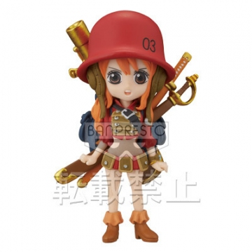 главная фотография One Piece World Collectable Figure ~One Piece Film Z~ vol.3: Nami