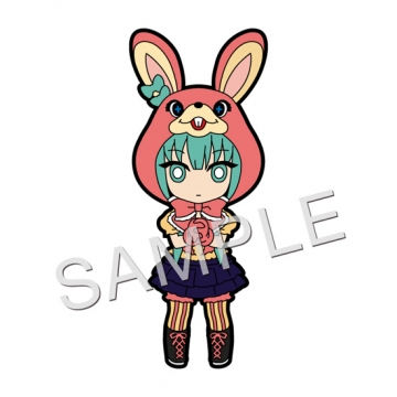 главная фотография Pic-Lil! Hatsune Miku Rubber Strap #06: Hatsune Miku LOL -lots of laugh- Ver.