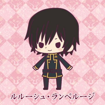 главная фотография Rubber Strap Collection Code Geass Hangyaku no Lelouch Stage 1: Lelouch Lamperouge