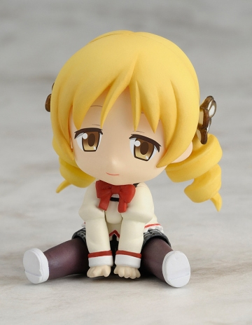 главная фотография Petanko Mini!: Madoka Magica Trading Figures: Tomoe Mami School Uniform Ver.