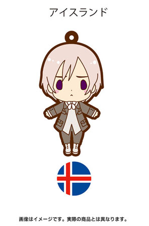 главная фотография es Series Rubber Strap Collection Hetalia Part 2: Iceland