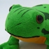 Press It With Fist and It Will Cry Memetaa! Frog Plushie