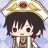 Rubber Strap Collection Code Geass Hangyaku no Lelouch Stage 2: Lelouch emperor ver