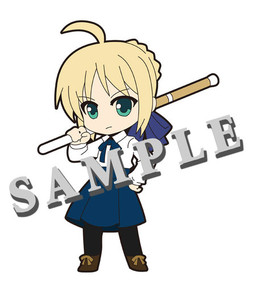главная фотография Pic-Lil! Fate/Saber Trading Strap: Saber Casual ver.
