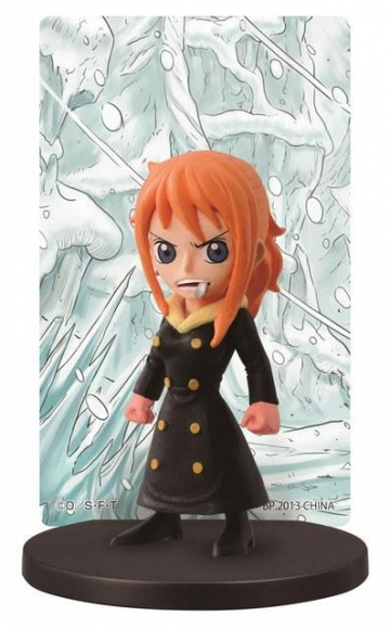 главная фотография Ichiban Kuji One Piece ~Punk Hazard Hen~: Sanji in Nami's body Card Stand Figure