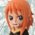 Ichiban Kuji One Piece ~Punk Hazard Hen~: Sanji in Nami's body Card Stand Figure