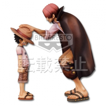 главная фотография Ichiban Kuji One Piece Memories: Monkey D. Luffy and Red-Haired Shanks Pastel Color Ver.