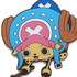 One Piece Tsumamare Pinched Keychain: Tony Tony Chopper