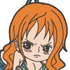 One Piece Tsumamare Pinched Keychain: Nami