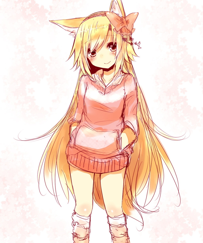 Картинки неко лисичка