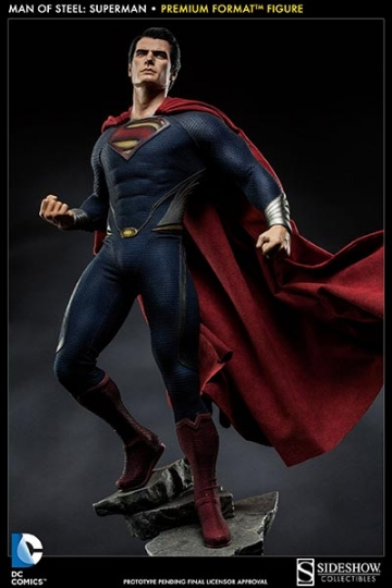 главная фотография Premium Format Figure Superman Man of Steel ver.