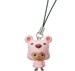 главная фотография One Piece Character Strap #2: Tony Tony Chopper Pink Bathrobe ver.