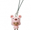фотография One Piece Character Strap #2: Tony Tony Chopper Pink Bathrobe ver.