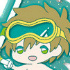Free! Clear Rubber Strap ~in vacation~: Tachibana Makoto