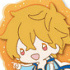 Free! Clear Rubber Strap ~in vacation~: Hazuki Nagisa