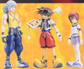 фотография Kingdom Hearts Soft Figure DX 3 Pack Set: Sora