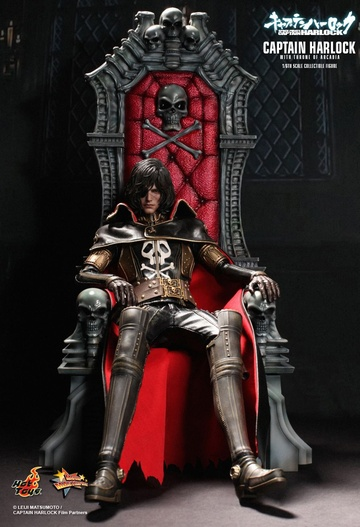 главная фотография Movie Masterpiece Captain Harlock With Throne of Arcadia