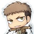 Attack on Titan Deka Keychain: Jean