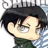 Attack on Titan Key Ring: Chimi Levi