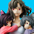 Super Figure Art Collection Hana with Ame and Yuki