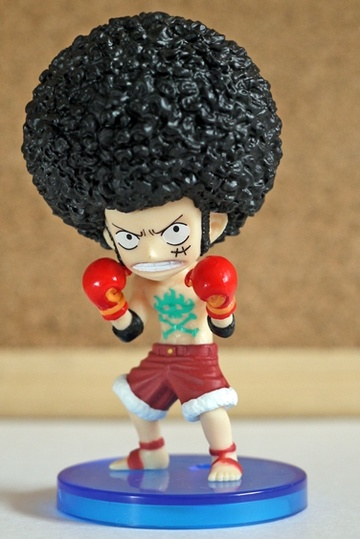 главная фотография One Piece World Collectable Figure vol.21: Afro Luffy