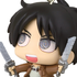 Deformed Mini Shingeki no Kyojin Chimi Chara Mascot 2: Eren Jaeger