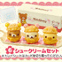 Rilakkuma Funwari Cake Shop: Cream Puff Set