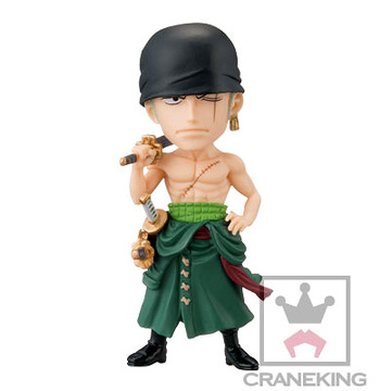 главная фотография One Piece World Collectable Figure Vol.34: Roronoa Zoro