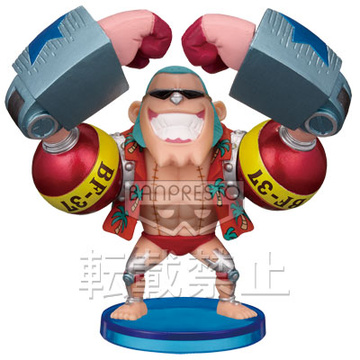 главная фотография One Piece World Collectable Figure vol.23: Franky
