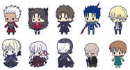 фотография es Series Rubber Strap Collection Fate/stay night chapter 2: Saber Alter